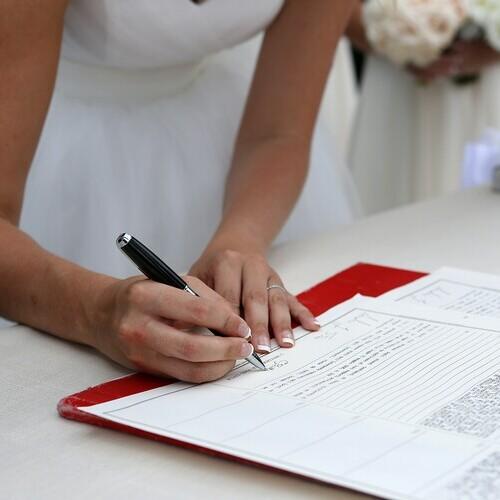wedding documents translation